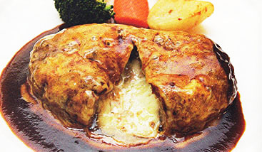 松阪牛とろ~りチーズハンバーグステーキ  ¥3,100