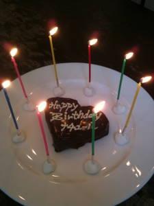 サプライズ用ケーキ